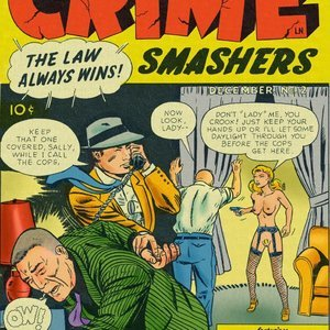 Crime Smashers – Issue 2 Fredric Wertham Comics