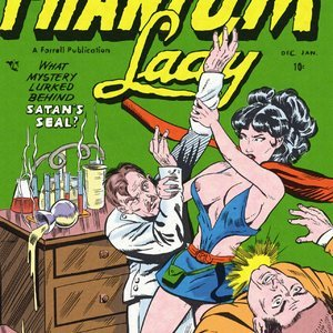 Phantom Lady Fredric Wertham Comics