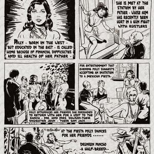 Polly of the Plains Fredric Wertham Comics