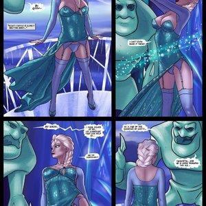Frozen Parody 12 – Elsa Meet Jack Frozen Parody Comics