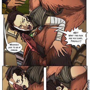 Fuckit - Alx Comics A Complete Guide to Wookie Sex - Issue 1 gallery image-004