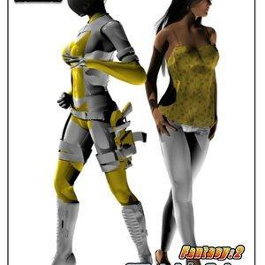 Shadow Rangers – Issue 2 (G9MP Comics) thumbnail