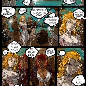 Pirate Queen Ganassa Comics