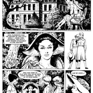 Georges Levis Comics The Exemplary Little Girls gallery image-002