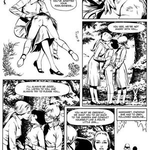 Georges Levis Comics The Exemplary Little Girls gallery image-017
