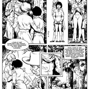 Georges Levis Comics The Exemplary Little Girls gallery image-018