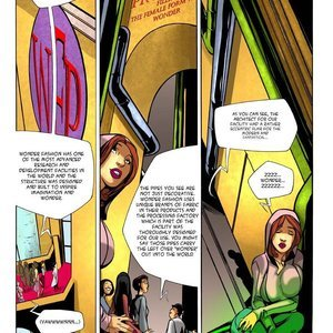 Giantess Club Comics Alison Wonderbra gallery image-007