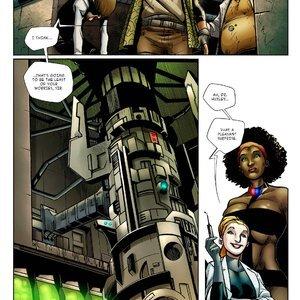 Giantess Containment Bureau – Issue 3 Giantess Club Comics