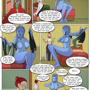 Giantess Club Comics Life Mutated - Issue 2 gallery image-004