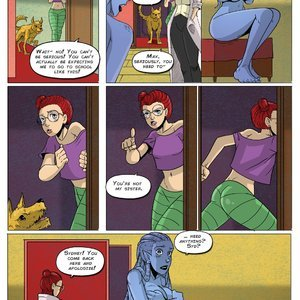 Giantess Club Comics Life Mutated - Issue 2 gallery image-005
