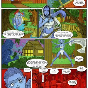 Giantess Club Comics Life Mutated - Issue 2 gallery image-008