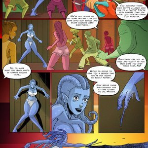 Giantess Club Comics Life Mutated - Issue 2 gallery image-009