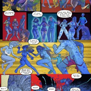 Giantess Club Comics Life Mutated - Issue 2 gallery image-010