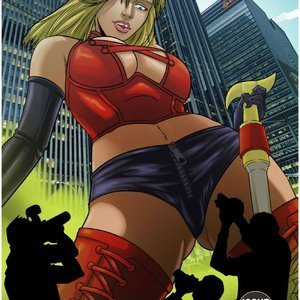 Rising Crime – The Big Scoop – Issue 1 Giantess Club Comics
