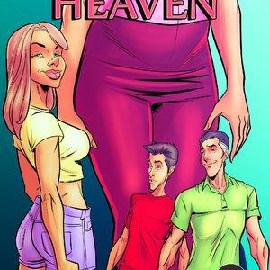 The New Heaven – Issue 1-4 (Giantess Club Comics) thumbnail