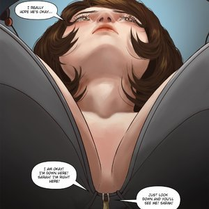 Giantess Fan Comics A Weekend Alone - Issue 10 gallery image-020