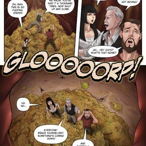 Giantess Fan Comics A Weekend Alone - Issue 10 gallery image-022