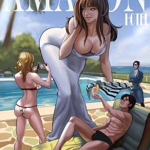 Amazon Hotel – Issue 1 Giantess Fan Comics