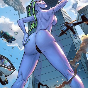 Apex Rush – Issue 4 Giantess Fan Comics