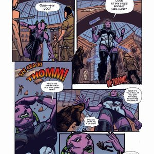 Giantess Fan Comics Apex Rush - Issue 4 gallery image-006