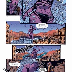 Giantess Fan Comics Apex Rush - Issue 4 gallery image-007