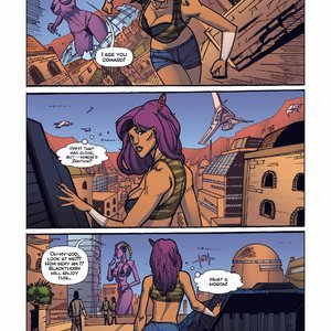 Giantess Fan Comics Apex Rush - Issue 4 gallery image-009