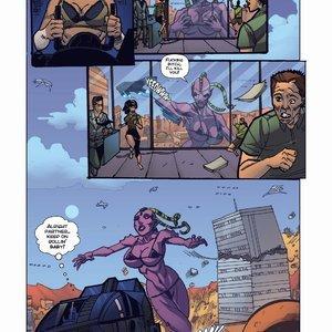 Giantess Fan Comics Apex Rush - Issue 4 gallery image-010
