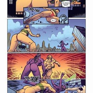Giantess Fan Comics Apex Rush - Issue 4 gallery image-012
