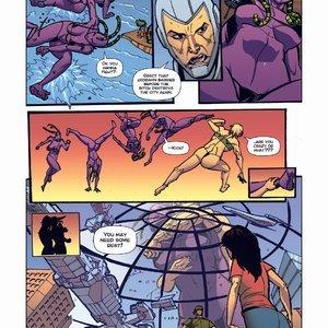 Giantess Fan Comics Apex Rush - Issue 4 gallery image-013