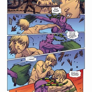 Giantess Fan Comics Apex Rush - Issue 4 gallery image-015