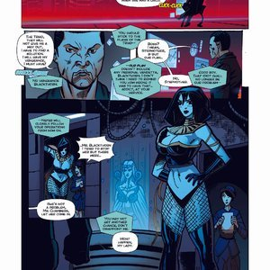 Giantess Fan Comics Apex Rush - Issue 4 gallery image-018
