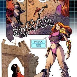 Giantess Fan Comics Bitter Dreams - Issue 3 gallery image-004