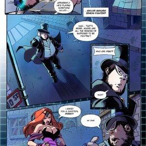 Giantess Fan Comics Bitter Dreams - Issue 3 gallery image-008