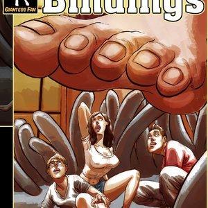 Family Bindings – Issue 1 Giantess Fan Comics