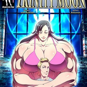 Goddess of the Trinity Moon – Issue 2 Giantess Fan Comics