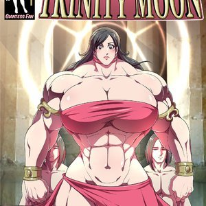 Giantess Fan Comics Goddess of the Trinity Moon - Issue 3 gallery image-001