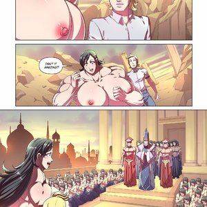 Giantess Fan Comics Goddess of the Trinity Moon - Issue 3 gallery image-003
