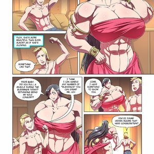 Giantess Fan Comics Goddess of the Trinity Moon - Issue 3 gallery image-012