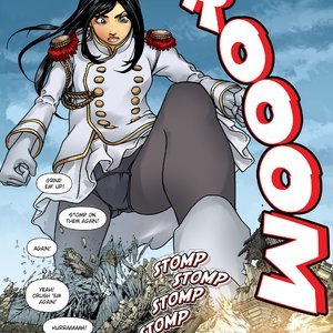 Giantess Fan Comics Goddess of the Trinity Moon - Issue 3 gallery image-020