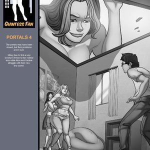 Giantess Fan Comics Portals - Issue 4 gallery image-002