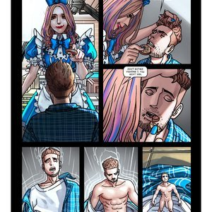 Giantess Fan Comics Portals - Issue 4 gallery image-022