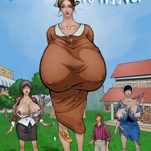 The Outgrowing – Issue 3 Giantess Fan Comics