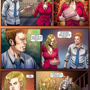 Giantess Fan Comics Unstoppable Hunger - Issue 1 gallery image-005