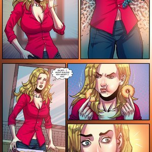 Giantess Fan Comics Unstoppable Hunger - Issue 1 gallery image-008