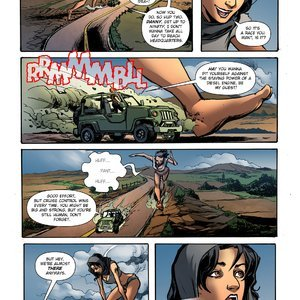 Giantess Fan Comics Unstoppable Hunger - Issue 1 gallery image-021