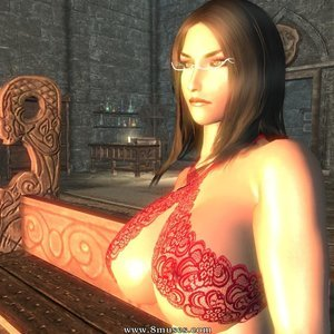 Girls of Skyrim 3 Porn book