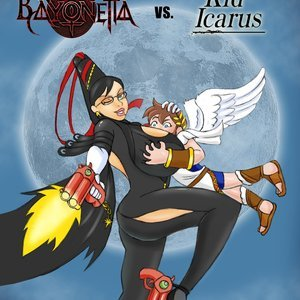 Bayonetta vs Kid Icarus Glassfish Comics