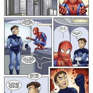 Continuing Adventures of Young Spidey Glassfish Comics