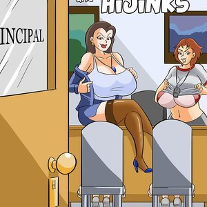 School Kinks and Hijinks Glassfish Comics