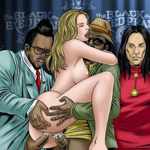 GoGoCeleb Comics Black Eyed Peas gallery image-003